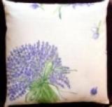 Hirsespelz-Lavendel Kissen