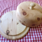 Zirbenholz Brot-/Käseglocke