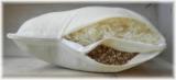 Schafwoll-Dinkelspelz Kissen
