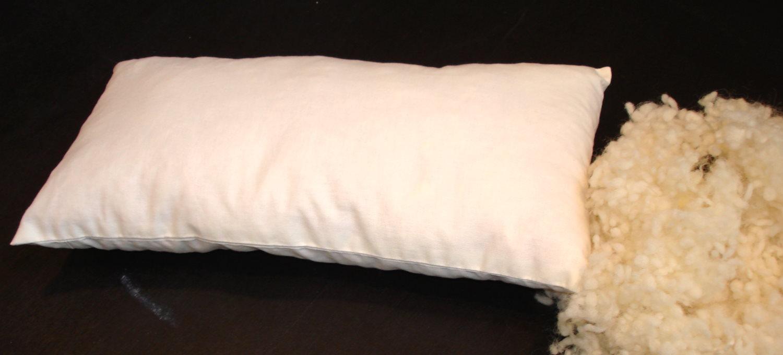 der gute nacht laden flexxima med schafwolle kissen 40x80. Black Bedroom Furniture Sets. Home Design Ideas