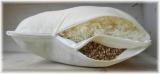 FLExxIMA-med Schafwoll-Dinkel 2-Kammer Kissen 40x60 cm